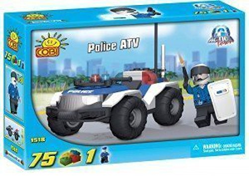 Cobi-Action-Town-Police-ATV-Toy-Playset