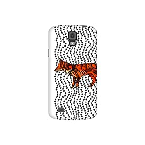 The Racoon Grip Imprint hard plastic printed back case / cover for Samsung Galaxy S4 Active