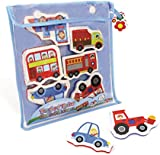 Great Gizmos Meadow Kids Trucks and Trains Bath Stickers