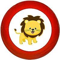 """Möbelgriff""""Löwe"""" Holz Buche Buche Kinder Kinderzimmer wilde Tiere Zootiere Dschungeltiere 1 Stück Traum Kind"""