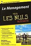 Le management pour les nuls business