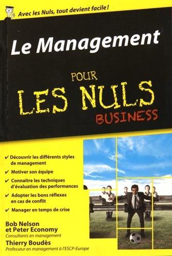 Le Management pour les Nuls poche Business par Thierry Boudès