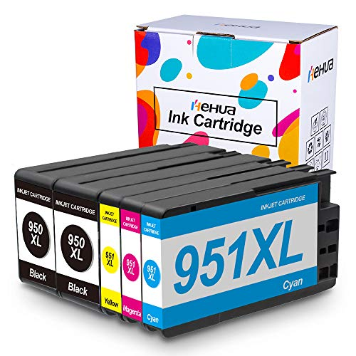 Hehua Compatible HP 950XL 951XL Cartuchos Tinta HP