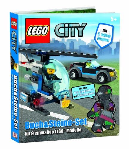 Preisvergleich Produktbild LEGO City Buch & Steine-Set: für 9 einmalige LEGO Modelle