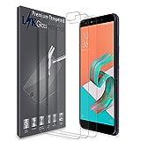 L&K [3 Pack] ASUS ZenFone 5 Lite/5Q Pellicola Protettiva, LK Protezione Schermo Vetro Temperato Screen Protector [Garanzia di Sostituzione a Vita]