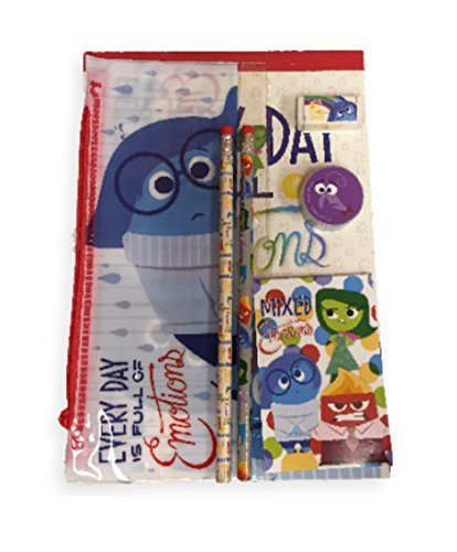 Disney Pixar Inside Out 7 Piece Sketch Drawing Activity Writing Set Mixed Emotions by Disney (Pixar Party Supplies)