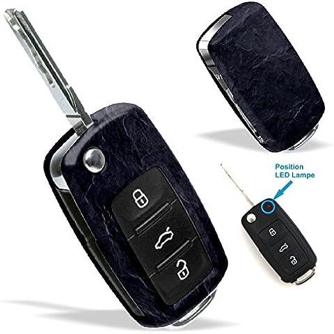 La cobertura de la llave de SEAT VW SKODA con Diseño stone