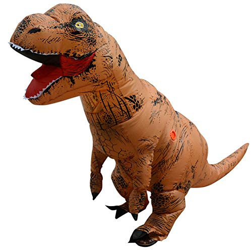 Lilalita T-Rex Dinosaurier Kostüm für Kinder Party Geschenk aufblasbarer Dress up Cosplay Kostüm Anzug Party