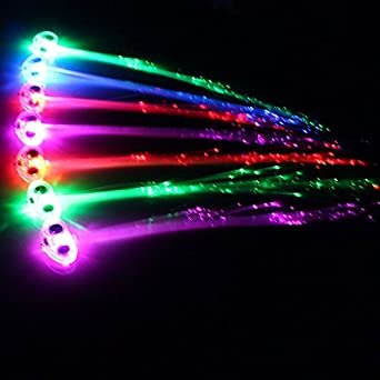 Led light up hair extensions fibre optic hair clip amazon led light up hair extensions fibre optic hair clip amazon kitchen home pmusecretfo Choice Image