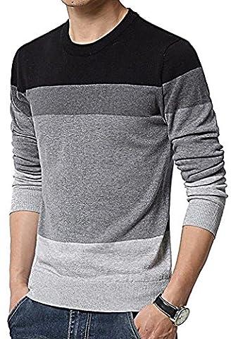 Men24 - Sweat-shirt - Manches Longues - Homme - noir - Medium