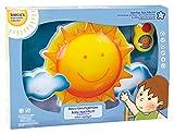 Bieco 04052659 - Nachtlicht Sonne mit Musik, ca. 33 x 22 x 5 cm