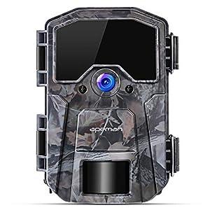 precio camara videovigilancia: apeman Cámara de Caza 16MP 1080P Cámara de vigilància de la Vida Silvestre, Cáma...