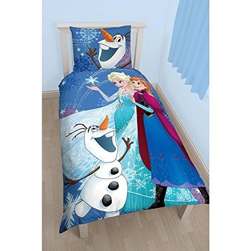 Disney Frozen The Snow Queen Bedding Duvet Cover 140 X 200 Cm