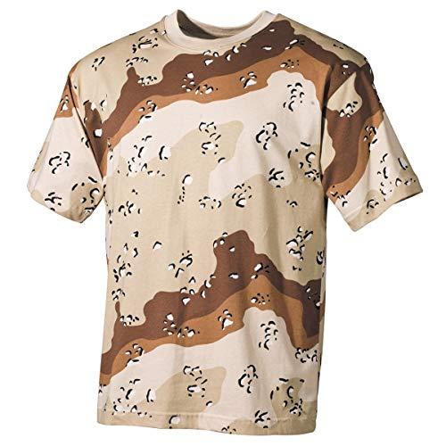 US Army T-Shirt 6 Farben-Desert XS-XXL M M,6 Farben desert