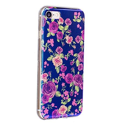 Für Apple IPhone 7 Fall, ultra dünnes leichtes Gewicht-Luxuxlicht-TPU Silikon-Gel-schützende rückseitige Abdeckung ( Color : L ) I