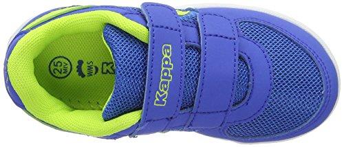 Kappa Trooper Light Sun, Sneakers Basses Mixte Enfant Bleu (Blue/lime)