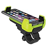 Eximtrade Universal Fahrrad Handy Halterung für Apple iPhone 4/5/5s/6/6s/6Plus/6s Plus/7/7 Plus, Samsung Galaxy S2/S3/S4/S5/S6/S6 Edge/S6 Edge Plus/S7 Edge/Note 3/Note 4/Note 5, HTC One, Motorola, Sony Xperia, LG und andere Smartphones und GPS