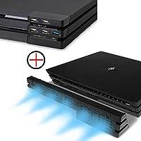 PS4 Pro Ventilador de refrigeración & 5-Port US...