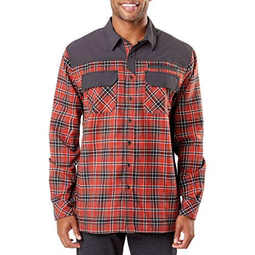 5.11 Tactical Endeavor Flannel Shirt Oxide Red, M, Rot 5.11 Tactical Tactical Flannel