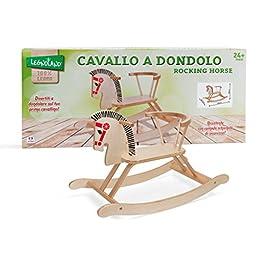 Legnoland 37021 – Cavallo a Dondolo in Legno
