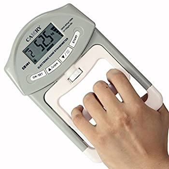 Camry Digital Hand Dynamometer 200 Lbs 90 Kgs Grip Strength Measurement Meter Auto Capturing Hand Grip Power 0