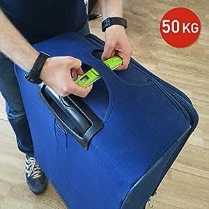 Tatkraft Portable Bilancia Digitale Pesa Valige Tascabile con Indicatore Sonoro