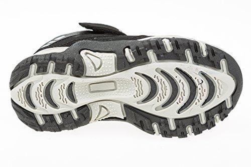 GIBRA® Kinder Sportschuhe, mit Klettverschluss, schwarz/weiß, Gr. 25-36 Schwarz/Weiß