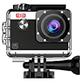 Action Kamera 4K WiFi, Elephone Action Cam Full HD|1080P/60fps |16MP Unterwasser Kamera|170°Ultra...