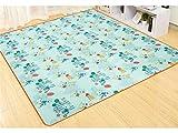 Unbekannt Unbekannt Schön Cartoon Katze Oxford Wasserdichte Picknickdecke Baby Krabbelnde Matte Anti Sand Picknick Isomatte für Camping (Farbe : As Shown)