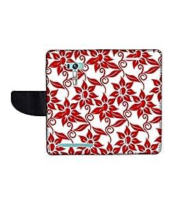 KolorEdge Printed Flip Cover For Asus Zenfone Selfie ZD551KL Multicolor -(1479-55KeMLogo12437ZenSelfie)