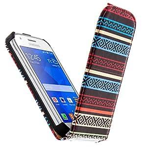 Étui Flip Maya Strips pour Samsung Galaxy Ace 4