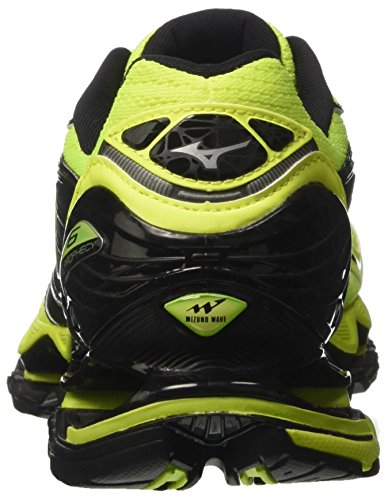 safetyyellow Chaussures Course Multicolore De Nero Homme Mizuno Wave Profezia Safetyyellow q7nWHRZ