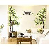 Miihome Removable Wall Decor Sticker - Lover Tree