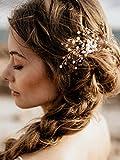 Handmadejewelrylady donne sposa vintage festa di nozze cristallo STRASS capelli pettine accessori per capelli da sposa copricapo
