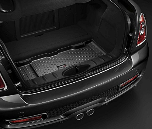 Black Heavy Duty Boot Cover Guard Liner Protector Pet For Mini Coupe 2011-2015