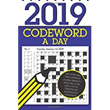 Codeword a Day 2019: 365 dated codeword puzzles