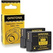 2x Batteria DMW-BLC12 E per Panasonic Lumix DMC-FZ200   FZ300   FZ1000   DMC-G5   G6   G70   DMC-GH2   GH6   DMC-GX8   Leica V-Lux 4