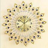 Sala De Estar Del Reloj De Pared Reloj De Alarma Electrónico Del Hierro De La Moda Creativa