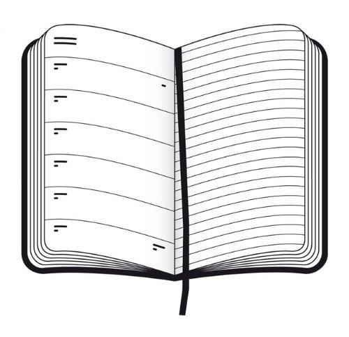 Moleskine 2011 12 Month Weekly Notebook Diary Planner (Moleskine Srl)