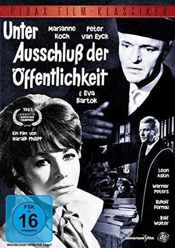 Unter Ausschluß der Öffentlichkeit - Spannender Thriller mit Marianne Koch und Peter van Eyck (Pidax Film-Klassiker)