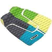 Ion footpad tabla de surf Cubierta agarre almohadilla de tracción 3-PCS azul/amarillo/verde