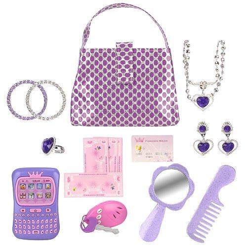 Dream Dazzlers Glam on the Go Fashion Playset - Purple by Dream Dazzler
