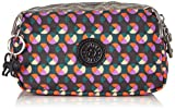 Kipling Walan M, Womens Make-up Pouches, Multicolour (party Dot Pr Bg), 20x13x9 cm (B x H x T)