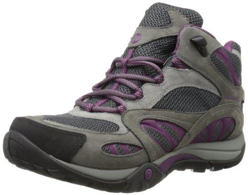 Merrell Azura Mid Waterproof, Chaussures de randonnée tige haute femme - Multicolore (Castle Rock/Purple) CASTLE RCK/PURPLE