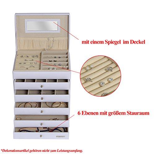 Zoom IMG-3 yorbay portagioie scatole per gioielli