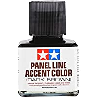Tamiya Panel Line Accent Color Dark Brown (40ml)