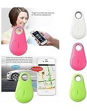 BuyBack® Anti-Lost/Theft Device - Smart Key Finder, Bluetooth Locator, GPS Pet Tracker, Alarm Wireless Anti-Lost Sensor, Selfie Shutter Seeker for Pets, Kids, Wallet, Keys, Cars[Random Color]