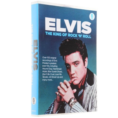 King Blue Suede Shoes (Elvis - The King of Rock 'n' Roll 6 CD pack including the tracks Jailhouse Rock & Blue Suede)