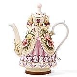 große teekanne keramische kaffeekanne pehost porzellan kaffeekanne teekanne grace erwachsenen teeservice