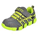 Yesmile Zapatos Niños Ligera y Transpirable Malla Tejida voladora Antideslizante para niños sin Cordones Unisex Zapatos Conveniente Zapatos Zapatillas Deportivas Transpirables